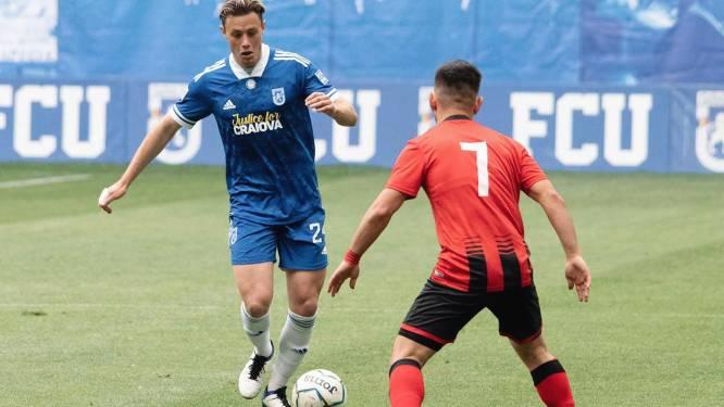 """William Baeten promoveert met FC U Craiova naar Roemeense hoogste klasse: """"Nu de titel nog pakken"""""""