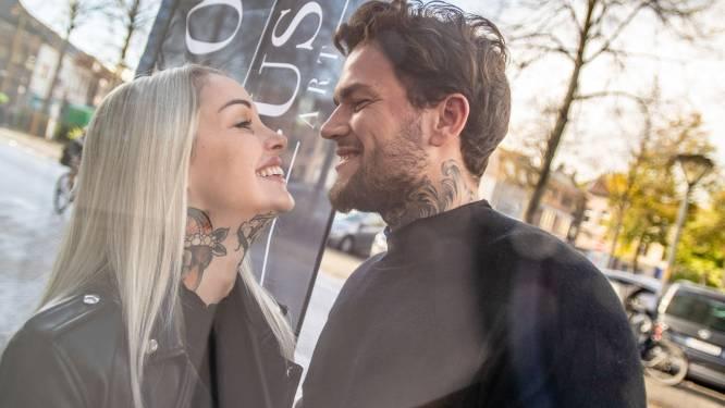 """Pommeline en vriend openen tattooshop in Aalst: """"Ik doe de fijne vrouwelijke tatoeages, hij het grote fotorealistische werk"""""""