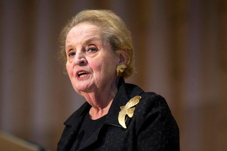Madeleine Albright.  Beeld AP