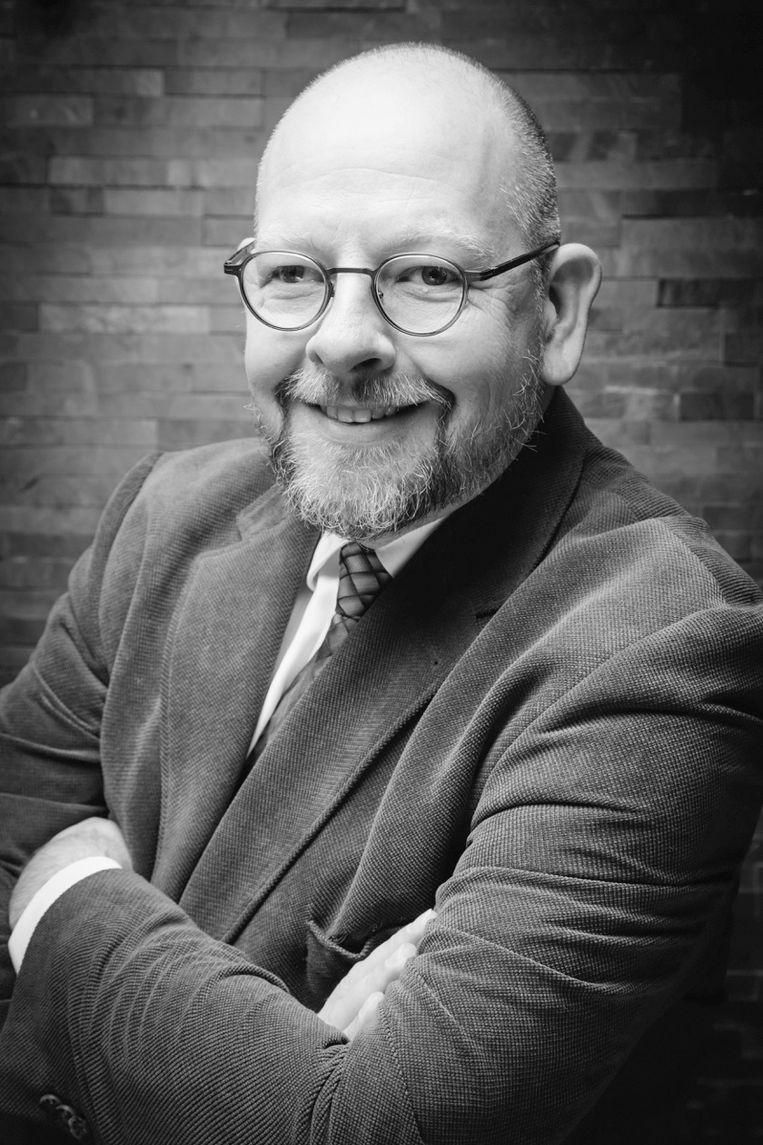 Tjaard Barnard, remonstrants predikant te Rotterdam. Beeld