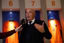 Nederlands bondsvoorzitter Van Praag.