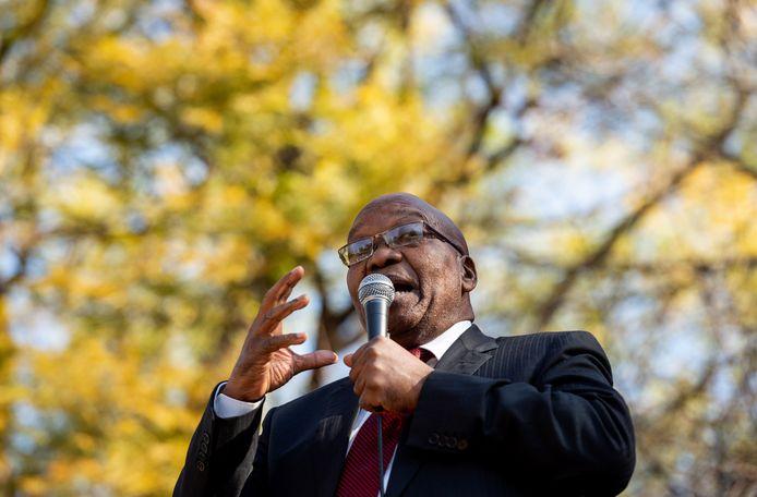 Oud-president van Zuid-Afrika Jacob Zuma.