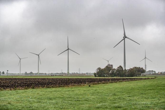 Van het huidige windmolenpark op de grens van de gemeenten Zwolle, Staphorst en Dalfsen staan vier turbines op Zwols grondgebied. Mogelijk worden dit er meer.