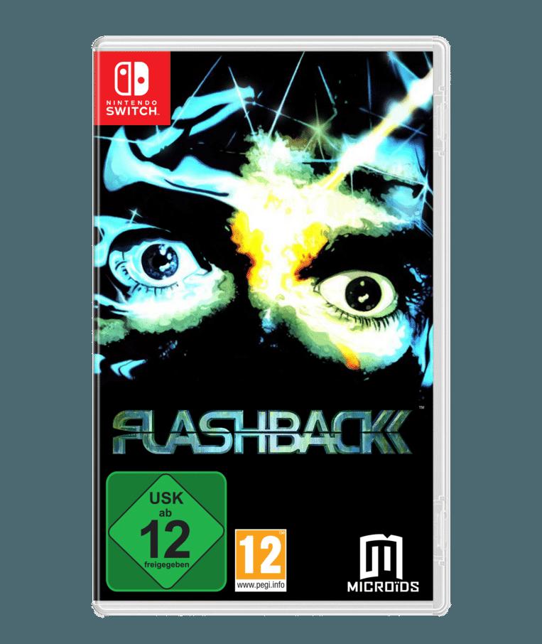 Het packshot van 'Flashback' ziet er min of meer hetzelfde uit als 26 jaar geleden. Beeld Microïds