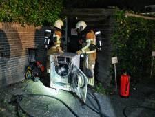 Brand in droger veroorzaakt veel rook bij Italiaans restaurant in Oisterwijk