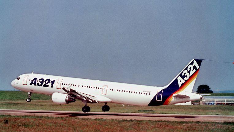 Een Airbus A321. Beeld afp