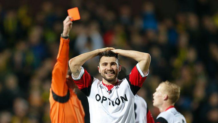 Kostovski blesseerde zich op het veld van KV Mechelen.