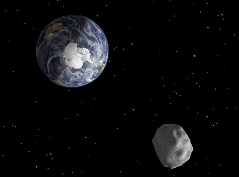 De asteroïde 2012DA14. Beeld REUTERS