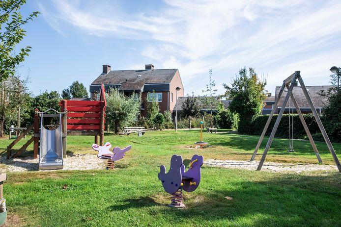 Het speeltuintje van de Disselwijk.