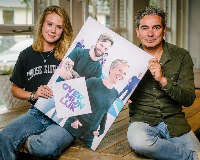 Eline Vreugdenhil en Marc Dik, redacteur en producent van Over Mijn Lijk.