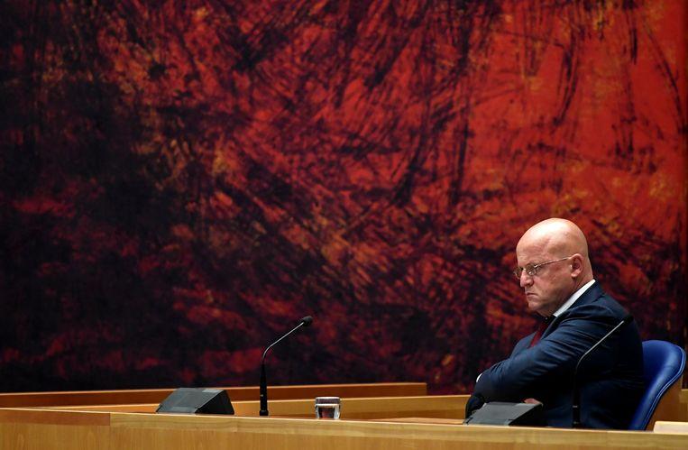 Eerder overleefde minister Grapperhaus een Kamerdebat over zijn positie, waarin een motie van afkeuring werd verworpen. Beeld REUTERS