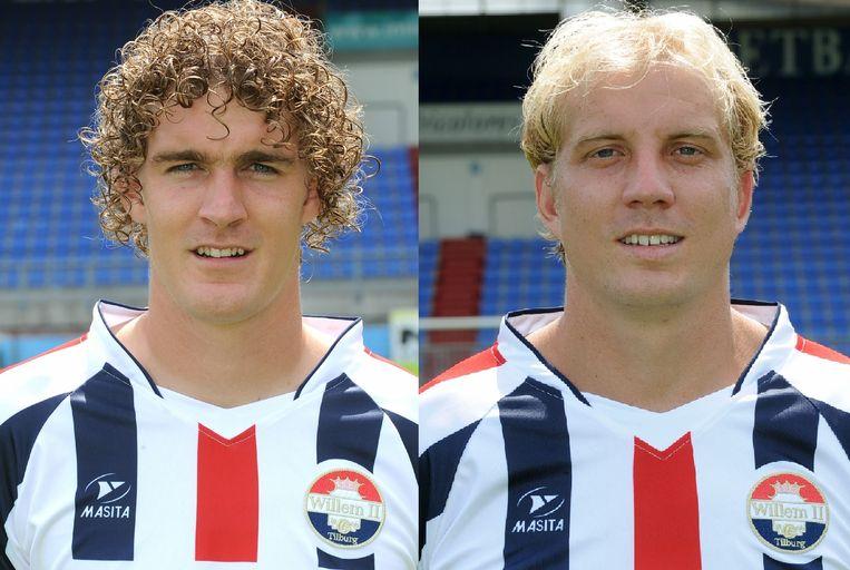 Arjan Swinkels en Frank Demouge. Beeld anp