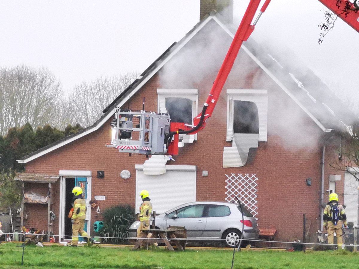 Woningbrand in Duiven