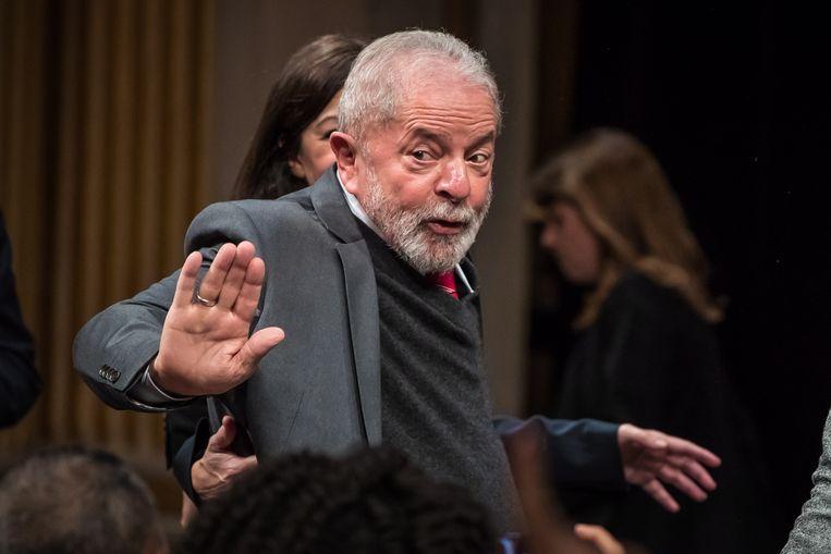 Oud-president van Brazilië Luiz Inacio Lula da Silva. Beeld EPA