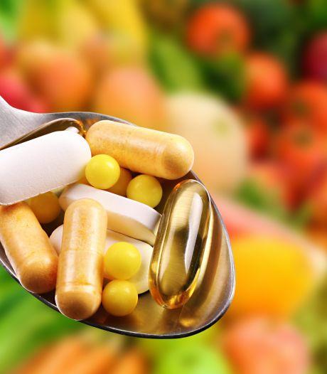 'Vitaminepillen slikken is écht niet nodig'