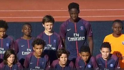 12 jaar en al 1m90: de Franse verdediger die nu al door Europese topclubs gewild is