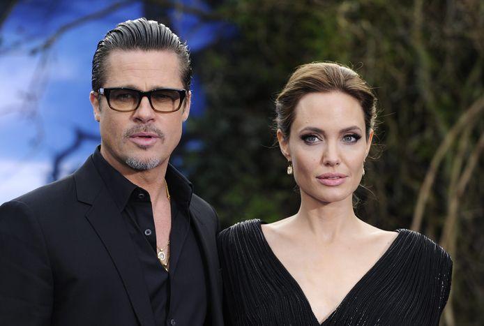 Angelina Jolie en Brad Pitt