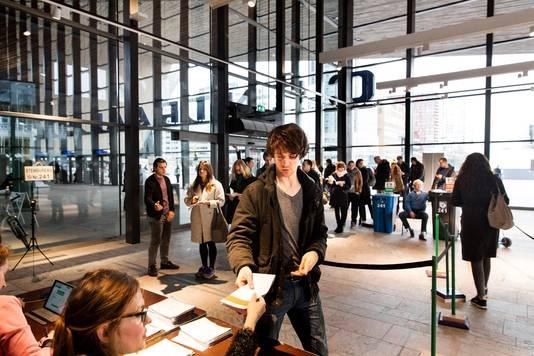 Ook Rotterdam Centraal heeft volgende week een stembureau.