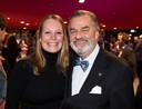 Oud-directeur van het Spoorwegmuseum Paul van Vlijmen met zijn partner.
