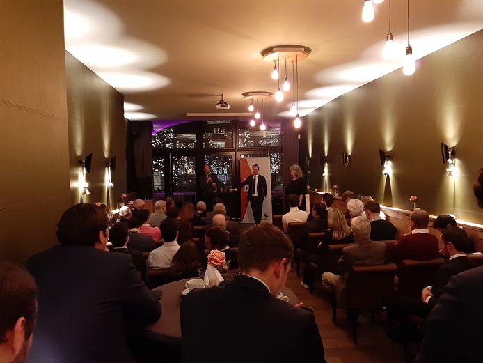 VVD-bijeenkomst over nieuw coalitieprogramma