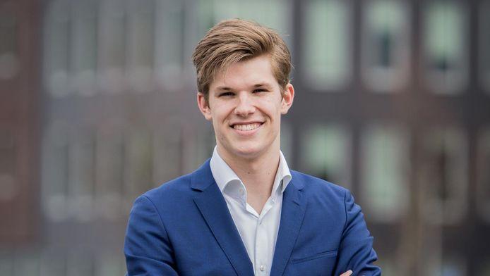 De jonge ondernemer Alexander Wijninga