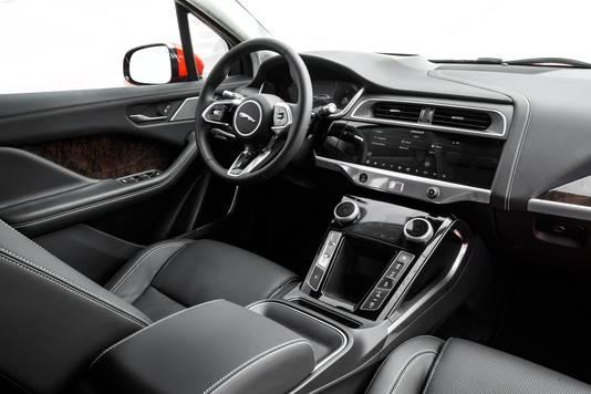 Het interieur is Jaguar-waardig.