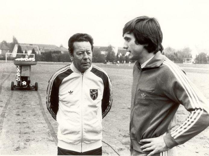 Guy Thys met Erwin Vandenbergh.