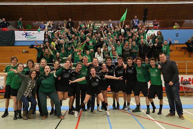 KC Leuven won de titel in 2018.