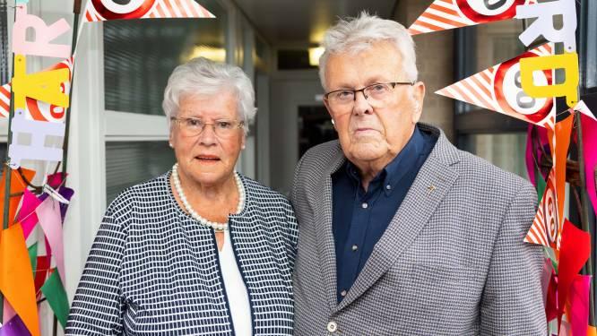 Diamanten echtpaar Slaats-Merkx: 'Gelukkig samen en met de familie'