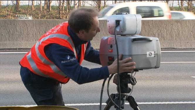 Regering-Michel mikt op 40 miljoen snelheidscontroles per jaar