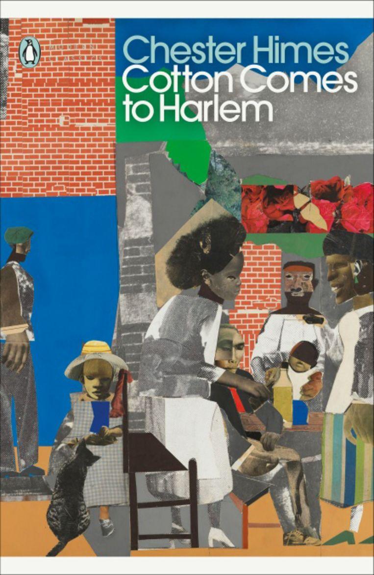Chester Himes: Cotton Comes to Harlem. Penguin, 2021. Omslagillustratie Romare Bearden. Beeld Romare Bearden