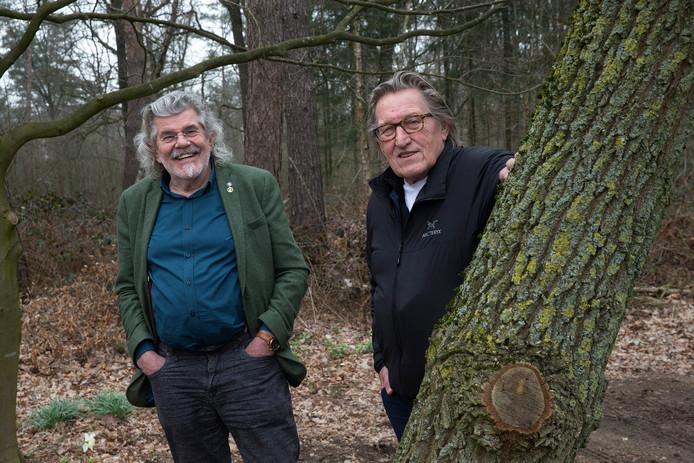 Gerrit Wolsink (rechts) en Bennie Jolink