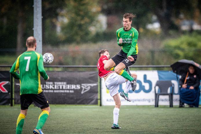 Tijn Jellema, hier nog in actie voor zijn club BVC.