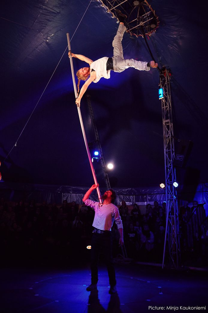 Circus I Love You during Wintervuur Festival 2017