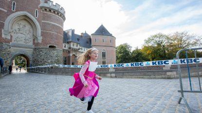 Ook prinsessen moeten hun conditie onderhouden