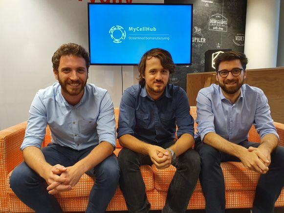 De oprichters van MyCellHub.