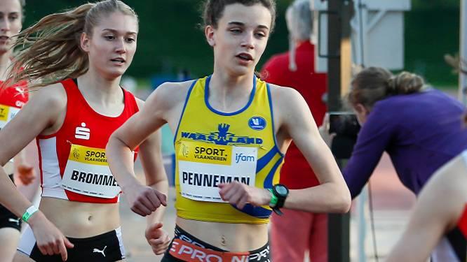 """ACW-atletes Merel Maes (hoogspringen) en Charlotte Penneman naar EK U20: """"Wilde op mijn eerste 3000m ooit vooral mooie tijd neerzetten"""""""