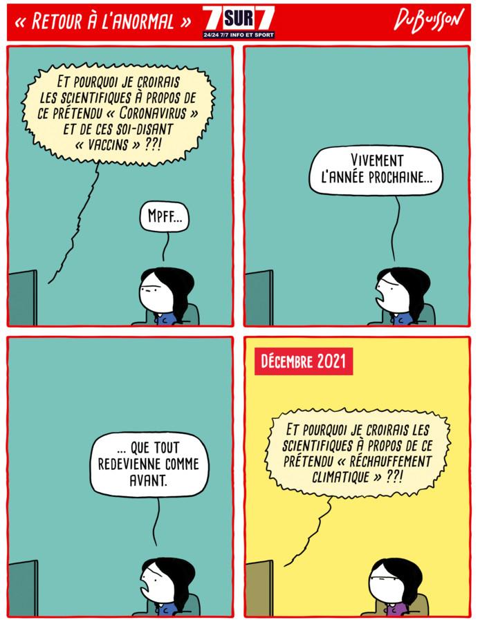 """""""Retour à l'Anormal"""", lundi 14 décembre"""