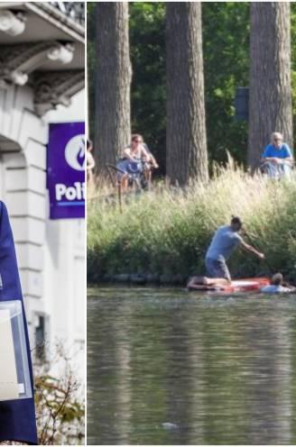 """Politieman Michel (48) springt in kanaal om rolstoelgebruikster te redden, nu krijgt hij medaille voor zijn heldendaad: """"Ik koos voor deze job om mensen te helpen"""""""