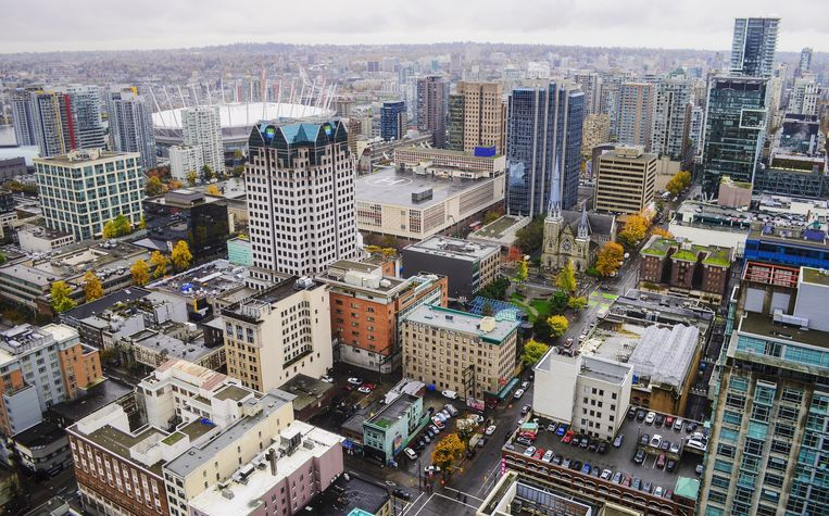 Vancouver. Beeld getty images