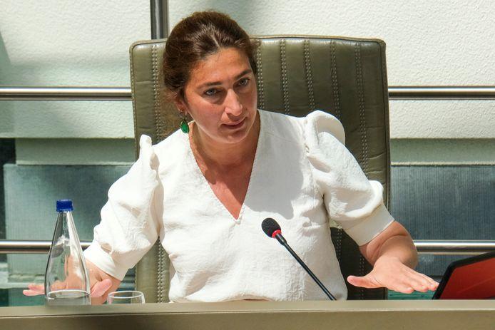 Vlaams minister van Justitie en Handhaving Zuhal Demir (N-VA).
