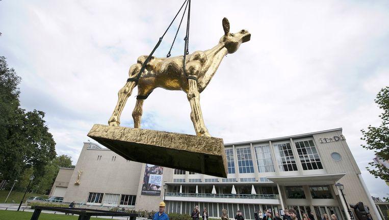 Het Gouden Kalf wordt geplaatst voorafgaand aan het Nederlands Film Festival Beeld anp