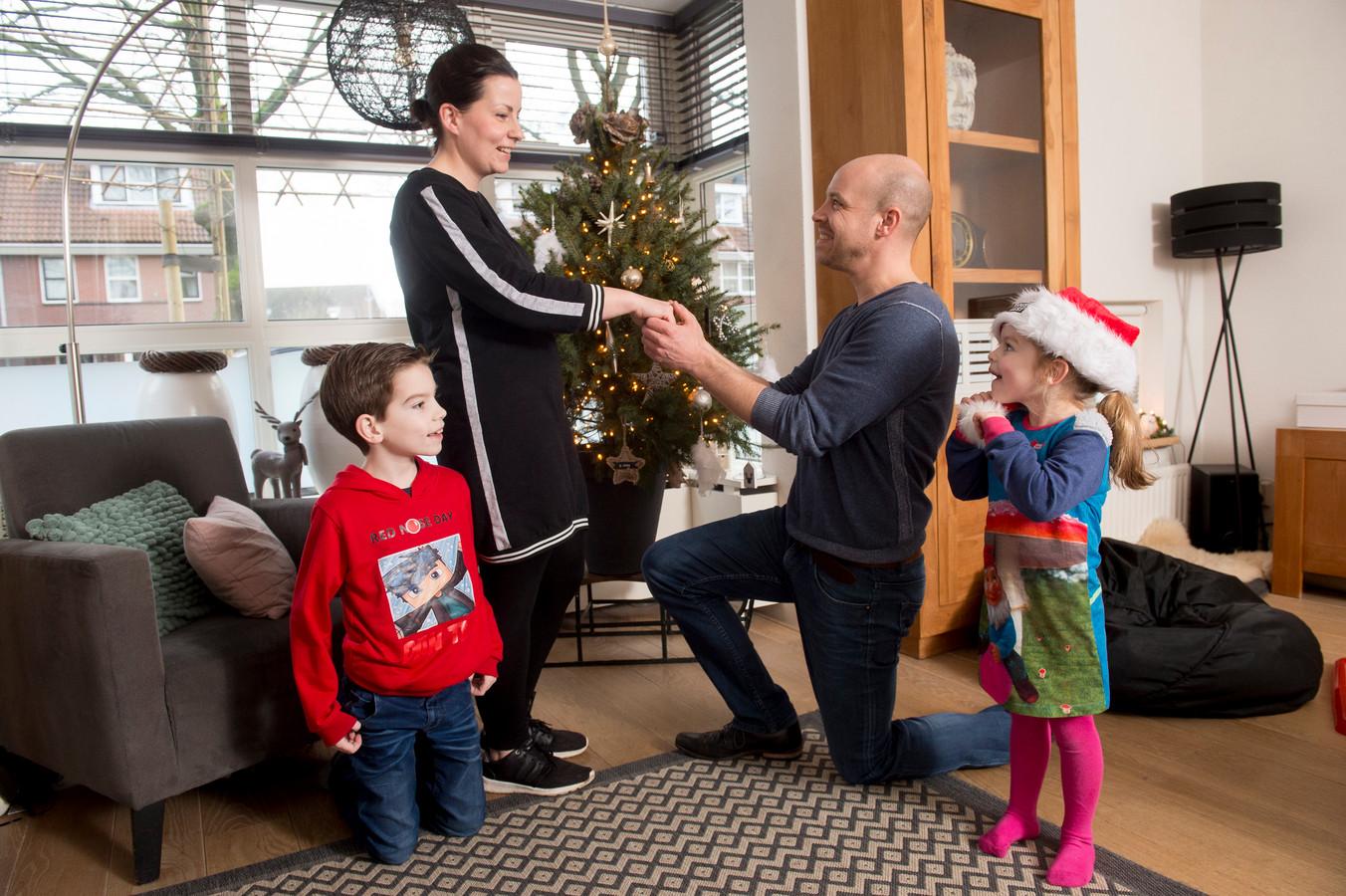 Kelly Verkijk en Roy ten Tije gaan zaterdag trouwen in het Glazen Huis.