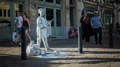 """Gesprek met een standbeeld: """"Ik ben verliefd op mijn beroep"""""""