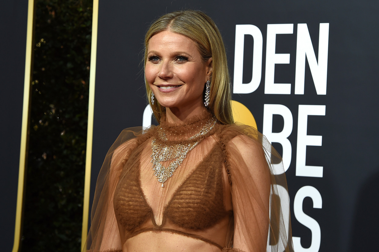 Gwyneth Paltrow op de Golden Globe Awards vorige week. Beeld Jordan Strauss/Invision/AP