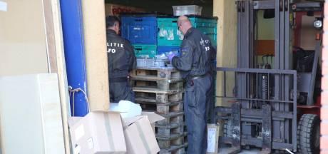 Groot xtc-lab in loods in woonwijk Sint Willebrord, 69-jarige eigenaar opgepakt