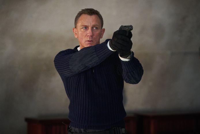Daniel Craig voor de laatste keer als James Bond in 'No Time To Die'.