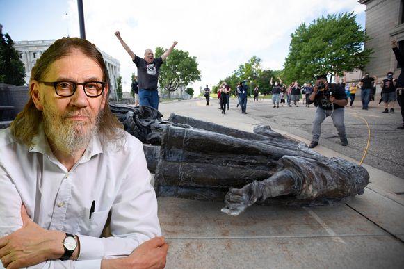 Dat standbeelden vernield worden, is van alle tijden, zegt filosoof Jean Paul Van Bendegem.