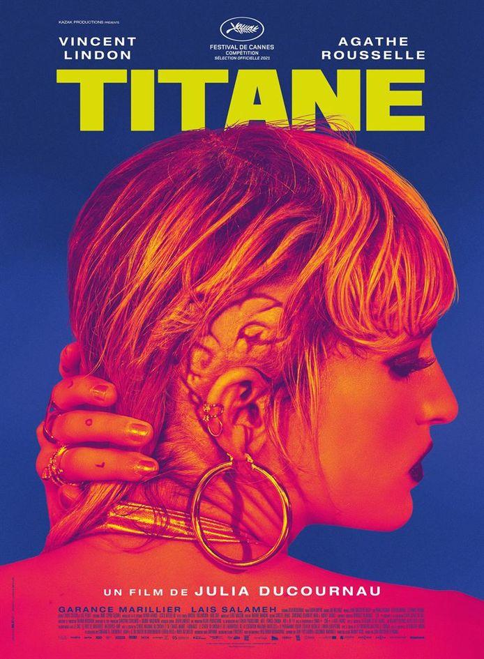 "L'affiche du film ""Titane""."
