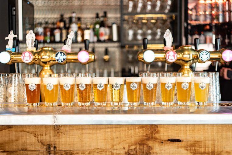 Bij Brouwerij de Eeuwige Jeugd draait het dit weekend om bier en poëzie. Beeld Delphine Chevalier